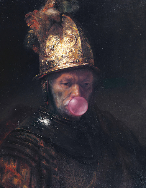 Thomas Hussung, 'Man with the Golden Helmet', 2017, White Cross