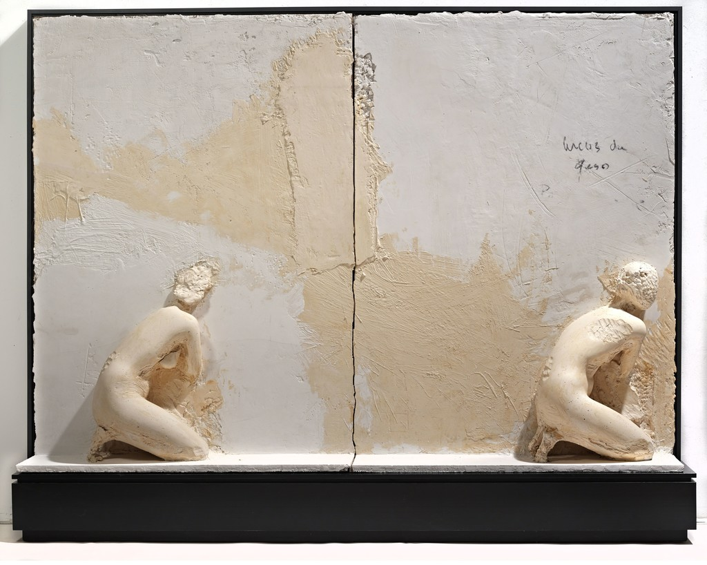 Manuel Neri, Arcos de Geso I (Diptych), 1985