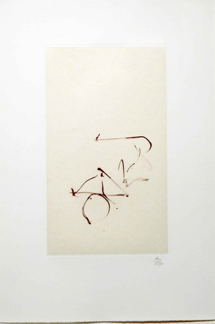 Robert Motherwell, 'Return, from Three Poems by Octavio Paz', 1988, Leslie Sacks Gallery