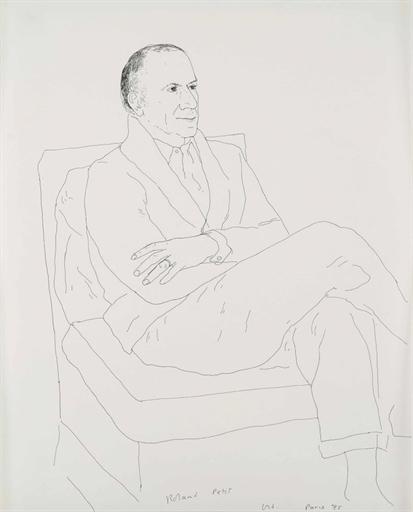 David Hockney, 'Roland Petit', Christie's