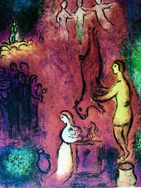 Marc Chagall, 'Sacrifice aux Nymphes', 1985, ByNewArt