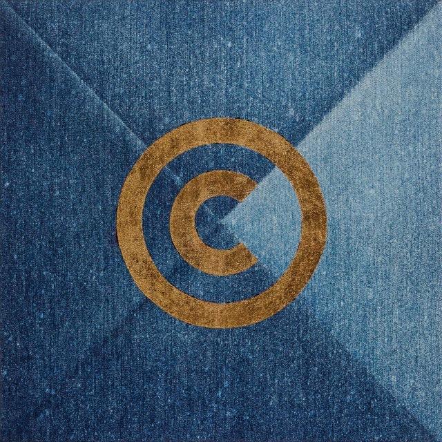 , 'Copyright (Quartered),' 1986-1987, Mai 36 Galerie