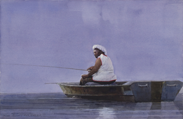 , 'Ruby Fishing,' 2009, Cutter & Cutter Fine Art