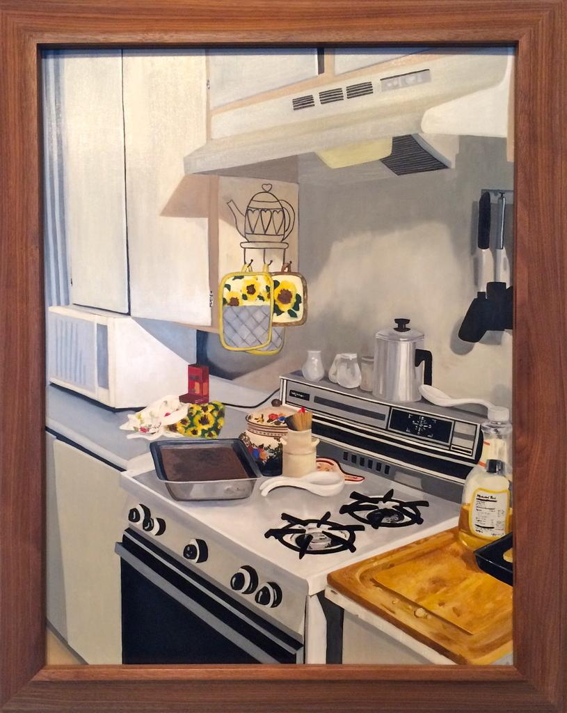 Erica Stephens | Granny\'s Kitchen (in a David Hockney frame) (2015 ...