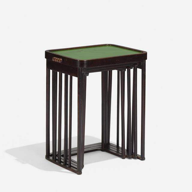 best service 63639 23d76 J. & J. Kohn, Josef Hoffmann | Nesting Tables, Set of Four ...