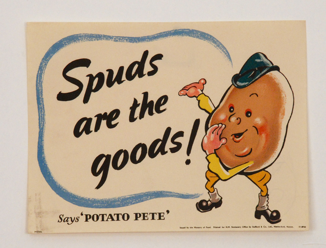 , 'Spuds Are The Goods,' , Sragow Gallery