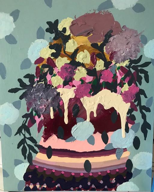 , 'Untitled 8 (Green),' 2017, LAUNCH LA