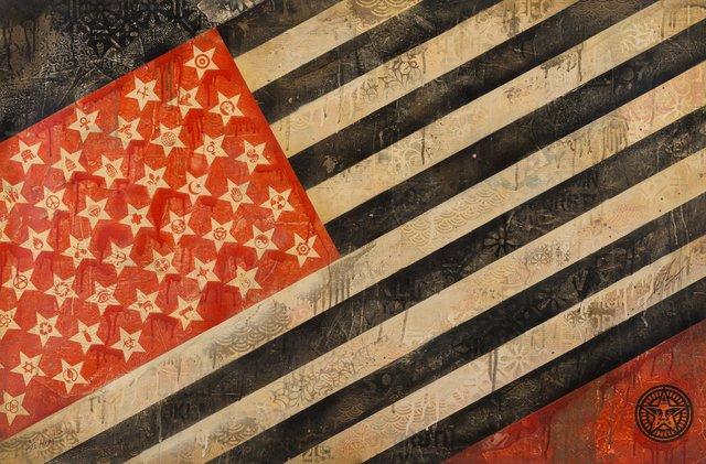 Shepard Fairey, 'Flag', 2010, Heritage Auctions