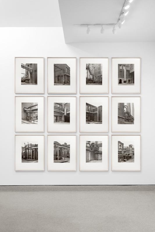 """Bernd & Hilla Becher """"Walls and Conduits"""" 1991"""