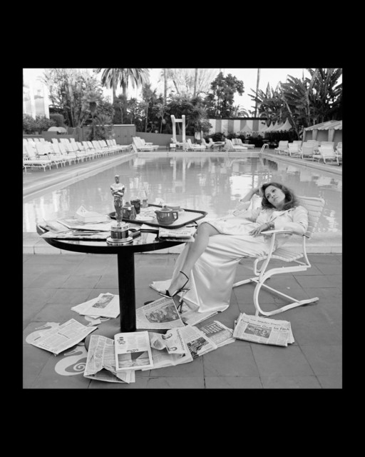 Terry O'Neill, 'Faye Dunaway , The Beverly Hills Hilton, Los Angeles,The Morning after her Network Oscar', 1977, Gallery 270