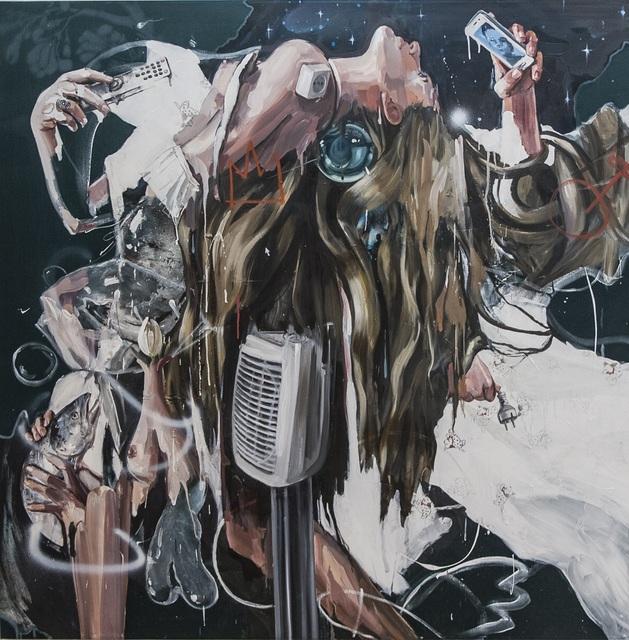 , 'Letting her hair down,' 2017, Meno niša Gallery