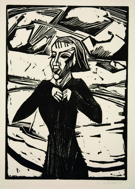 , 'Mädchen am Meer,' 1918, Henze & Ketterer