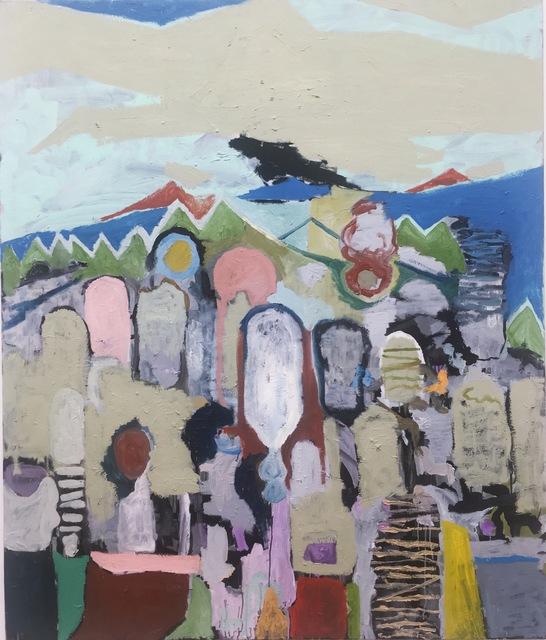 , 'Landschaft (für Frantz Fanon),' 2017, Galerie Britta von Rettberg