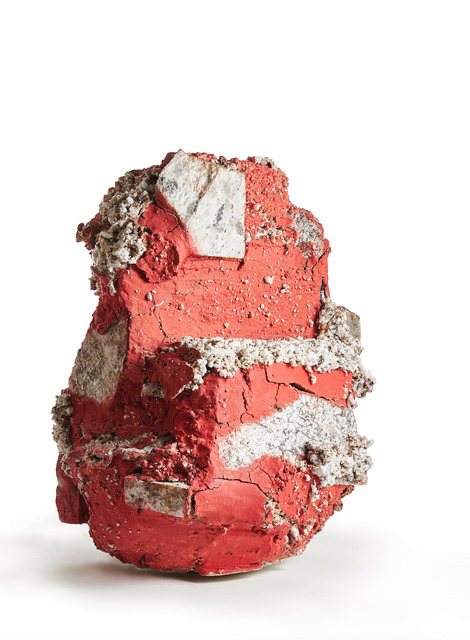 , 'Red Raining Stone,' 2017, Jason Jacques Gallery