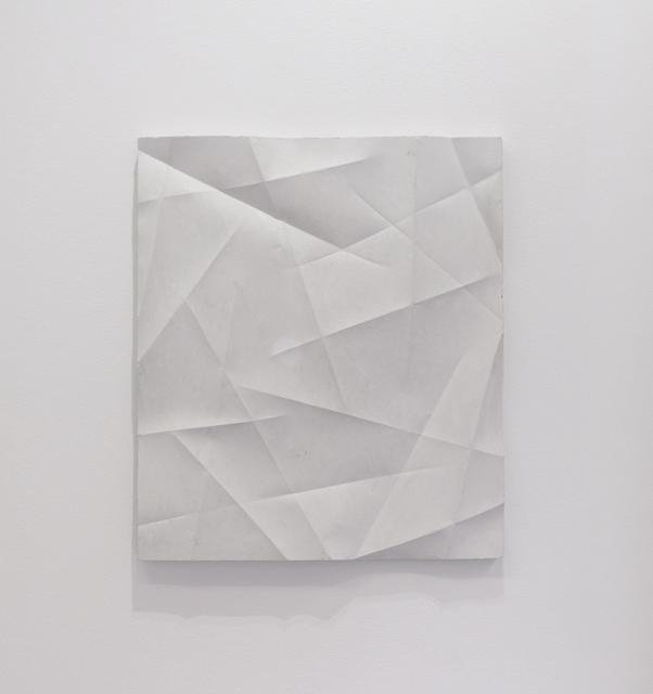 , 'Faltenguss No.3/18,' 2018, Bartha Contemporary