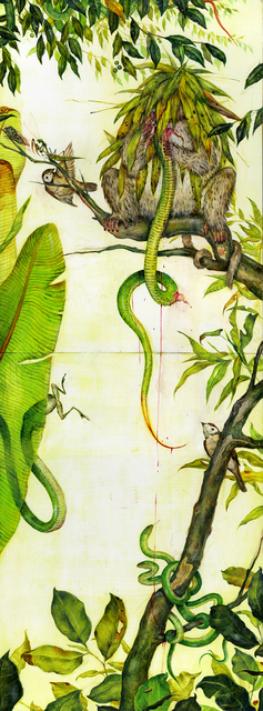 , 'Green Snakes,' 2016, Gallery Poulsen