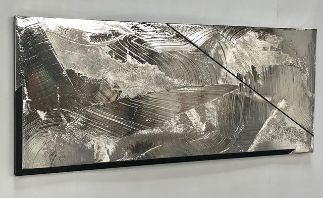 , 'Silver Surface,' 2018, Mark Moore Fine Art