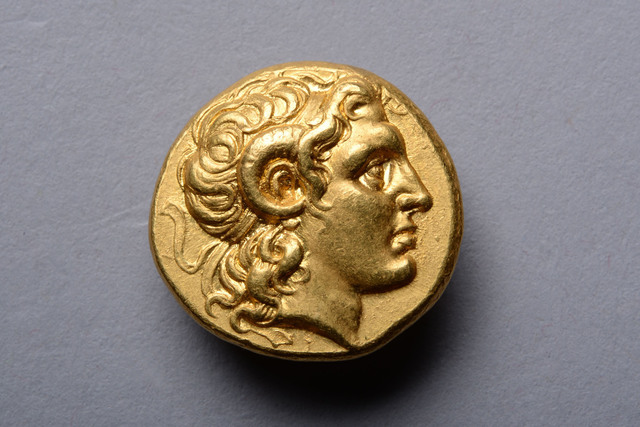 , 'Gold Coin of Alexander the Great,' ca. 297 BCE, ArtAncient