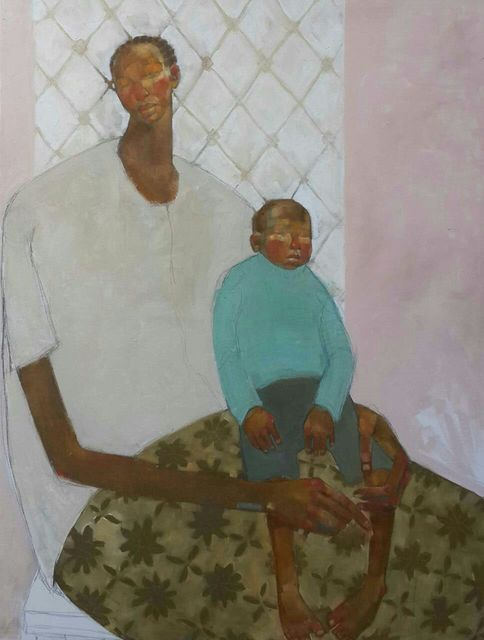, 'Mother and Child in Gachie,' 2018, One Off Contemporary Art Gallery