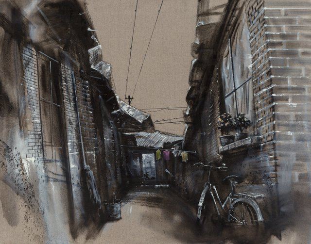Lu Hao, 'Untitled (Bicycle in Alley)', 2006, Heritage Auctions