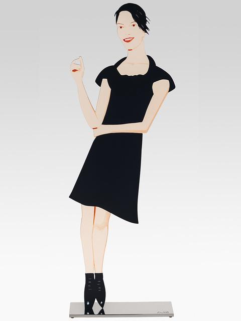 Alex Katz, 'Black dress 7 (Carmen)', 2018, Opera Gallery