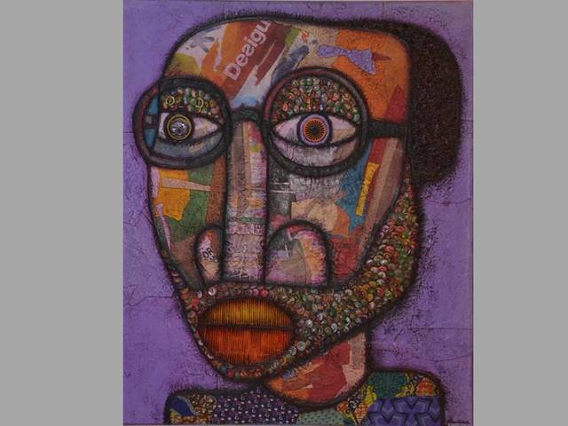 , 'urban  Man,' 2018, Signature Beyond Art Gallery (Nigeria)
