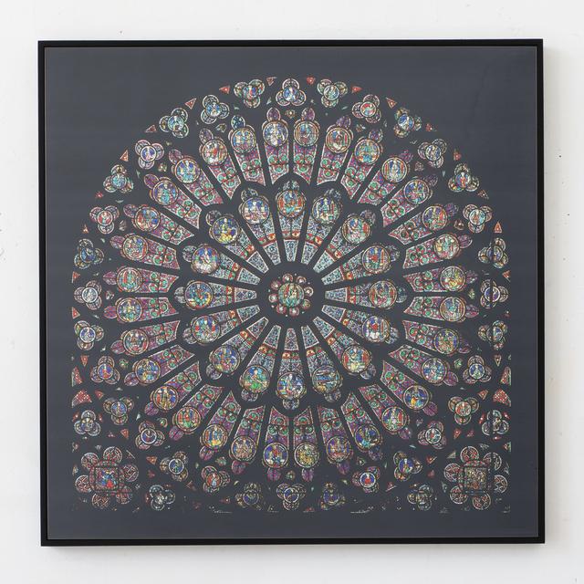 , 'Cathédrales Hermétiques - vitraux, Notre-Dame de Paris, 14th century,' 2016, Seelevel Gallery