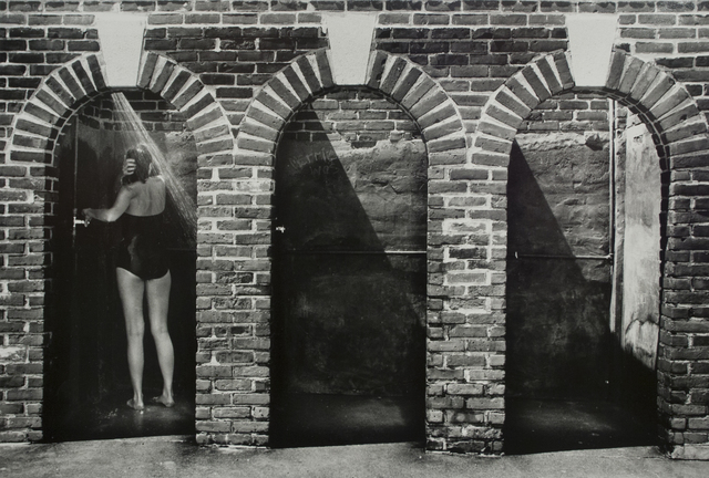 , 'Beach Showers, Westport CT,' 1980, Bruce Silverstein Gallery