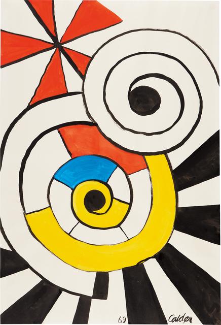 Alexander Calder, 'Overlapping Spirals', 1969, Phillips