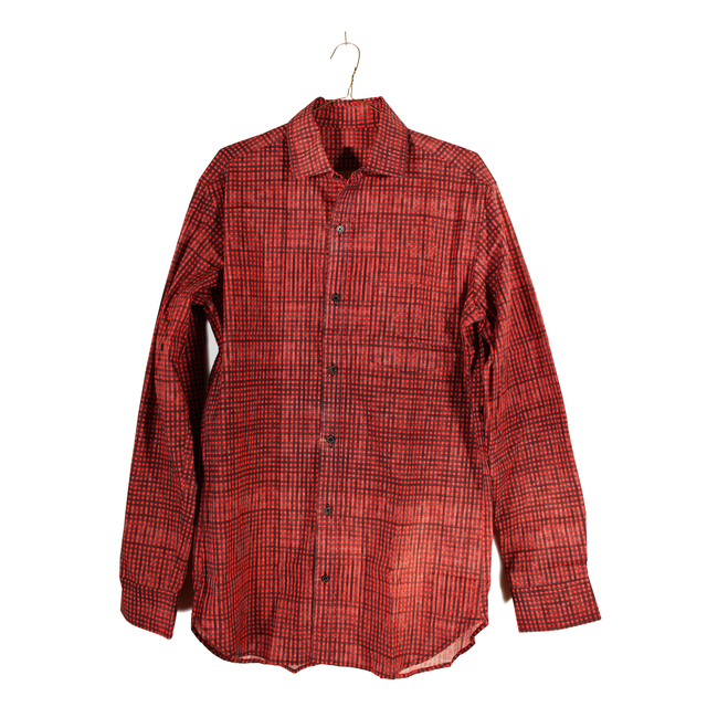 , 'untitled. (flannel 01),' 2015, Marly Hammer