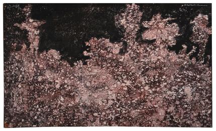Jean Dubuffet, 'Paysage tavelé aux arbres,' 1954, Sotheby's: Contemporary Art Day Auction