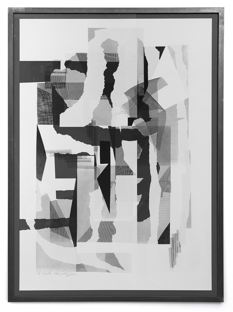 Clemens Behr, 'Untitled', 2020, Print, Screen print in 2 colors in multiple print runs on Zuber&Rieder cotton paper, Handsiebdruckerei