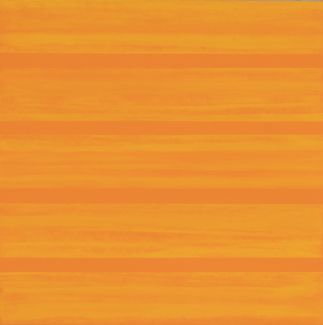 , 'Interval (Tangerine),' 2017, Turner Carroll Gallery