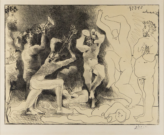 Pablo Picasso, 'La Danse des Faunes', 1957, Print, Original lithograph, Heather James Fine Art Gallery Auction