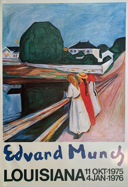Edvard Munch, 'Edvard Munch, Louisiana, 11 Okt-1975 to 4 Jan1976', 1976, David Lawrence Gallery
