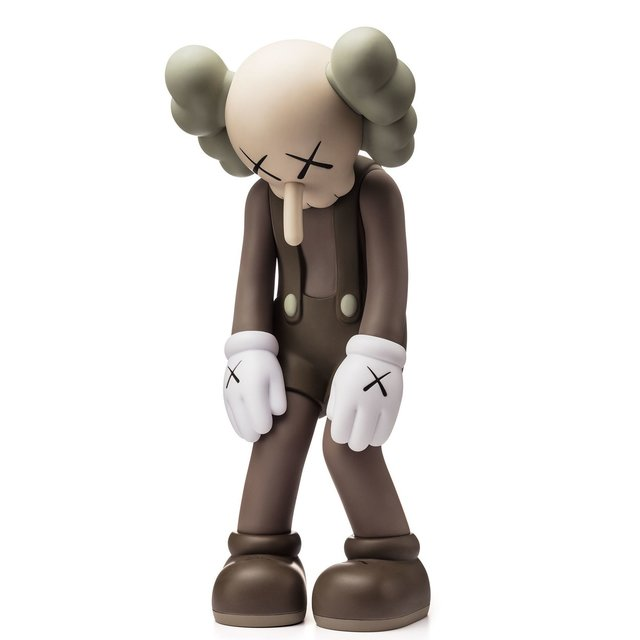KAWS, 'Small Lie (Brown)', 2017, Sculpture, Vinyl figure, ARTETRAMA
