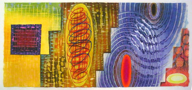 , 'Rifts of Condensities,' 2016, Atrium Gallery
