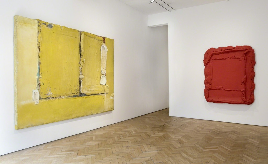 Bram Bogart, Zonzucht, 1965 and Rouge Rouge 2008