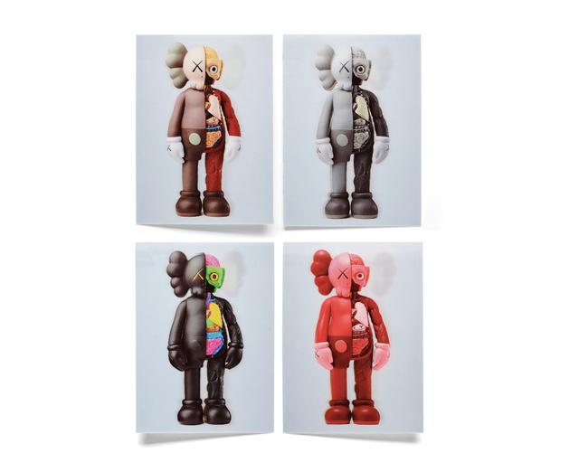 KAWS, 'KAWS x NGV Lenticular Postcard (Set of 4)', 2019, Print, Paper, Curator Style