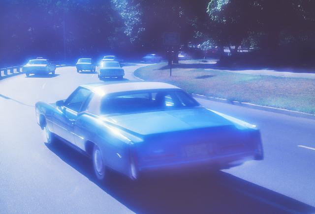 Mitchell Funk, 'Soft Cadillac Central  Park ', 1977, Robert Funk Fine Art