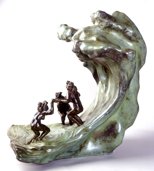 Camille Claudel, 'The Wave', 1897, Museo Soumaya