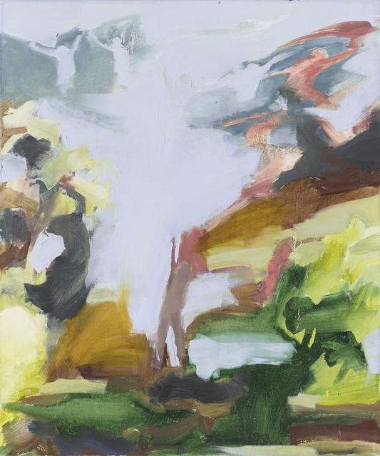 Iwalani Kaluhiokalani, 'The Announcement ', 2020, Painting, Oil on canvas, Galatea Fine Art