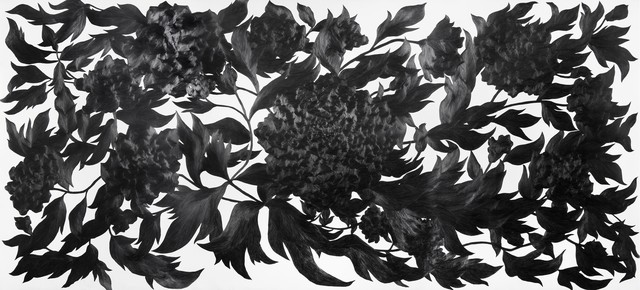 , 'Then I quietly draw a flower,' 2011, Art Sohyang