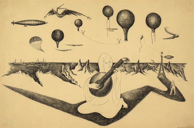 , 'Balloon Ascension #3: Dithyrambe Played by the Ashraf,' 1947, Heather James Fine Art