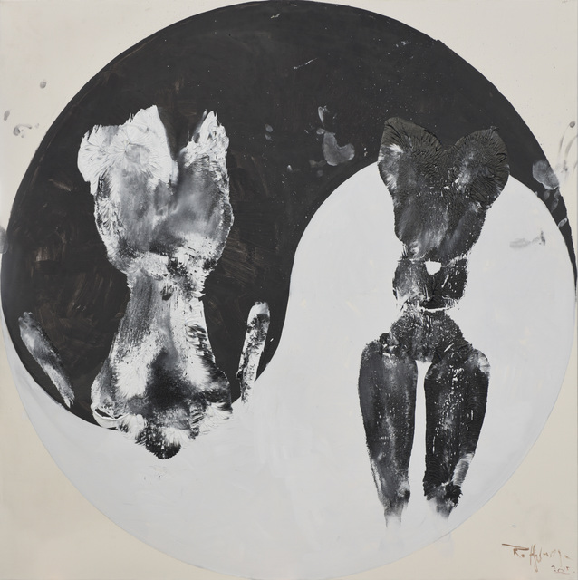 , 'Black and White Cats No.4,' 2015, 10 Chancery Lane Gallery
