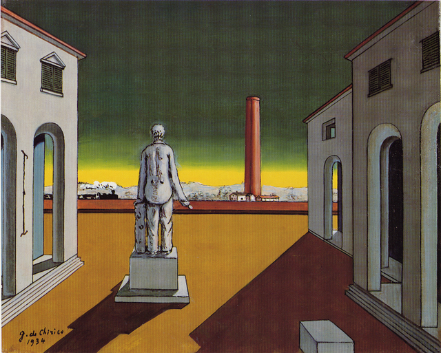 , 'Pomeriggio del filosofo (Piazza d'Italia),' ca. 1974, Nahmad Projects
