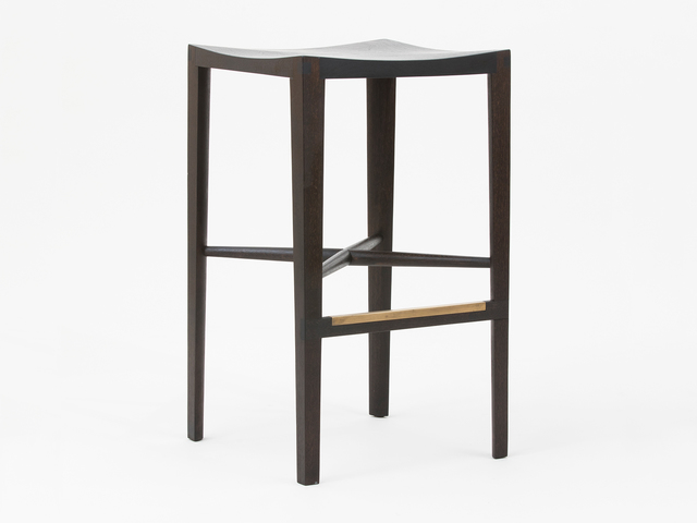 , 'Quarter Round Counter Stool (Without Backrest),' 2018, Patrick Parrish Gallery