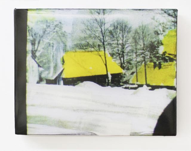 , 'Yellow Roof,' 2014, Goya Contemporary/Goya-Girl Press