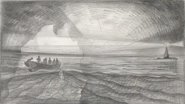, 'Seabird Hunters, Black Rock Light,' 2002, Winchester Galleries