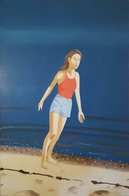 , 'Walking on the Beach,' 2003, Gana Art